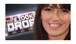 Logo for  THE £100K DROP with DAVINA McCALL
