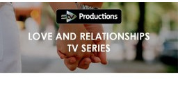Logo for Couples Wanted For Brand New TV Series About Love, Sex & Relationships