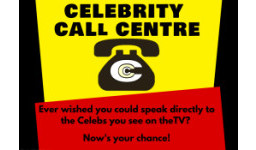 Logo for CELEBRITY CALL CENTRE - Callers Wanted!
