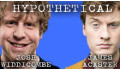 Logo for HYPOTHETICAL with JOSH WIDDICOMBE & JAMES ACASTER
