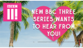 Logo for BBC Three Summer 2019