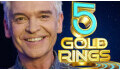 Logo for 5 GOLD RINGS hosted by PHILLIP SCHOFIELD