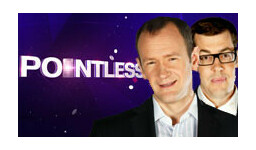 Logo for POINTLESS CELEBRITIES with Alexander Armstrong