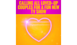 Logo for COUPLES WANTED FOR A FUN NEW TV SHOW