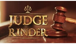Logo for DOES SOMEONE OWE YOU MONEY? JUDGE RINDER IS WAITING TO HEAR YOUR CASE!