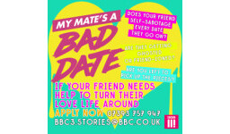 Logo for Brand New BBC3 Dating Series - looking for friends with dating horror stories!