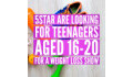 Logo for 5STAR Looking for young people aged 16-20 and families who want to change their diet and lifestyles