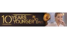 Logo for Channel 5's hit makeover show 10 Years Younger in 10 Days casting NOW!