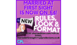 Logo for MARRIED AT FIRST SIGHT is BACK!