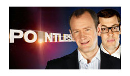 Logo for POINTLESS with Alexander Armstrong