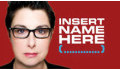 Logo for Insert Name Here with Sue Perkins