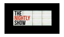 Logo for THE NIGHTLY SHOW