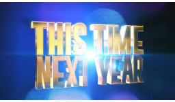 "Logo for Series 3 of ITV's ""This Time Next Year"" is looking for people who want to achieve a  goal in 2017."