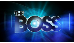 Logo for BBC1 quiz show, The Boss returns for series 2!